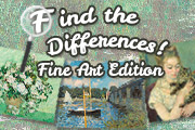 Find the Differences: Fine Art Edition