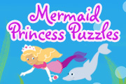 Mermaid Princess Puzzles