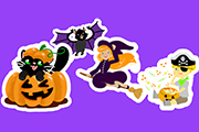 Halloween Sticker Pack- Cute and Scary Fun!
